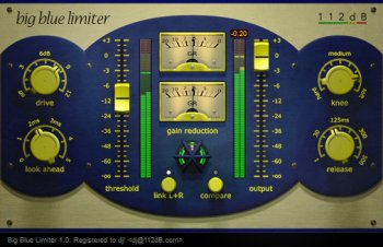 112db Big Blue Limiter v1.1.1 x86 x64