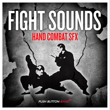 Звуковые эффекты Push Button Bang Fight Sounds Hand Combat SFX