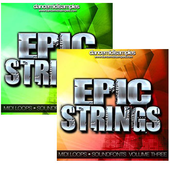 MIDI файлы - DMS Epic Strings Vol 3-4