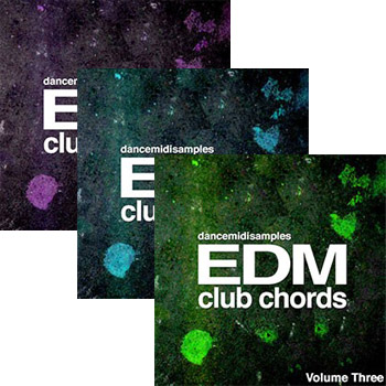MIDI файлы - DMS EDM Club Chords Vol 1-3