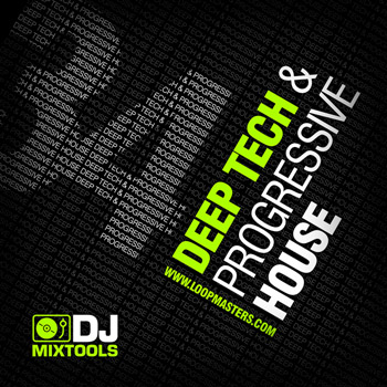 Сэмплы Loopmasters Dj Mixtools 34 Deep Progressive and Tech House Vol.1