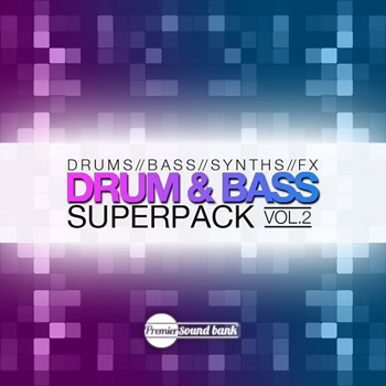 Сэмплы Premier Sound Bank Drum and Bass Superpack Vol.2
