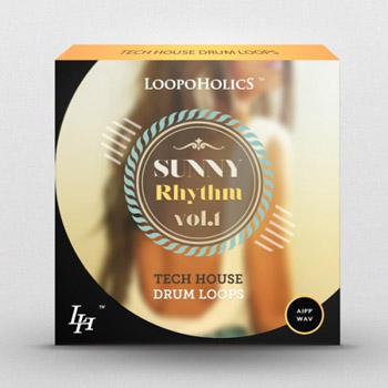 Сэмплы Loopoholics Sunny Rhythm Vol 1 Tech House Drum Loops