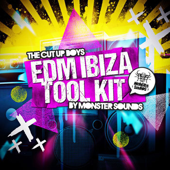 Сэмплы Monster Sounds The Cut Up Boys EDM Ibiza Tool Kit