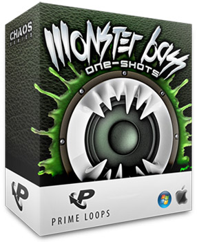 Сэмплы Prime Loops Monster Bass One Shots