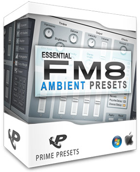 Пресеты Prime Loops Essential Ambient Presets for FM8
