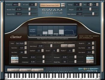 Sample Modeling The Soprano and Bass Clarinets v.1.0.3