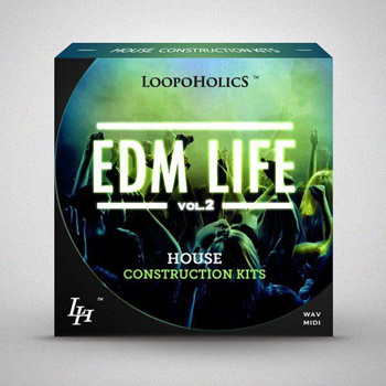 Сэмплы Loopoholics EDM Life Vol.2 House Construction Kits