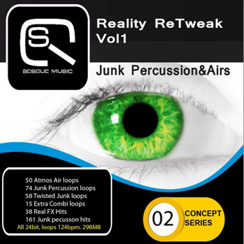 Сэмплы Sesque Sounds Reality ReTweak Junk Percussion and Airs