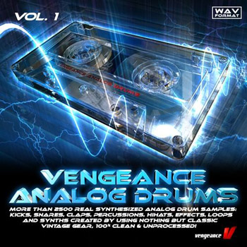 Сэмплы Vengeance Analog Drums Vol.1
