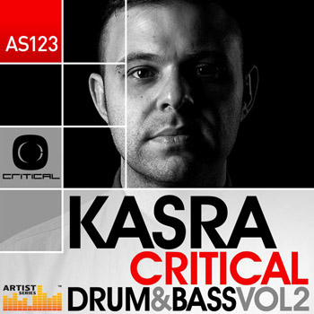 Сэмплы Loopmasters Kasra Critical Drum and Bass Vol.2