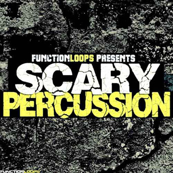 Сэмплы Function Loops Scary Percussion