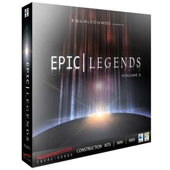 Сэмплы Equalsounds Epic Legends Vol.3
