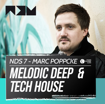 Сэмплы No Dough Samples Marc Poppcke Melodic Deep and Tech House Vol.1