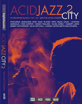 Сэмплы Big Fish Audio Acid Jazz City 2