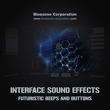 Звуковые эффекты - Bluezone Corporation Interface Sound Effects Futuristic Beeps and Buttons
