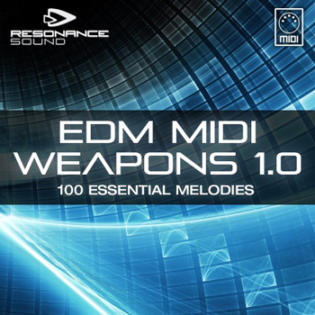 MIDI файлы - Resonance Sound EDM MIDI Weapons 1.0