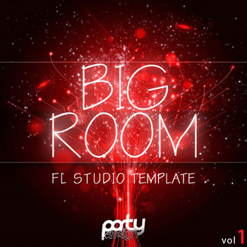 Проект Party Design Big Room Vol 1 For FL Studio Template