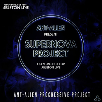 Проект Speedsound Ant Alien Supernova For Ableton Live