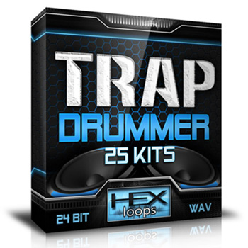 Сэмплы Hex Loops Trap Drummer 25 Kits