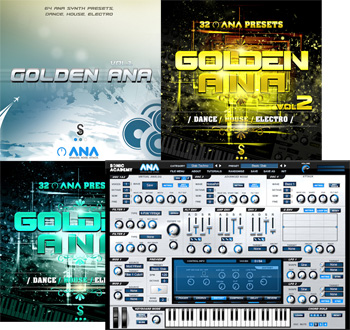 Пресеты Golden Samples Golden ANA Vol 1-3