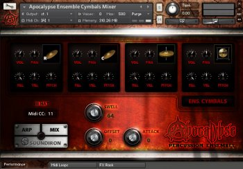 Библиотека перкуссии - Soundiron Apocalypse Percussion Ensemble V2 (KONTAKT)