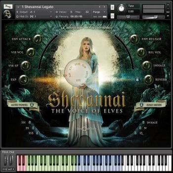 Библиотека сэмплов - Best Service Shevannai the Voices of Elves (KONTAKT)
