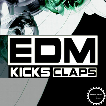 Сэмплы Industrial Strength Records EDM Kicks and Claps