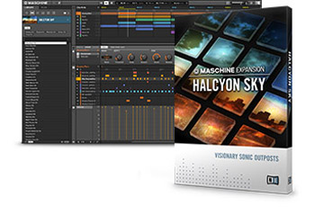 Native Instruments Maschine Expansion Halcyon Sky v1.0.0 (MASCHINE)
