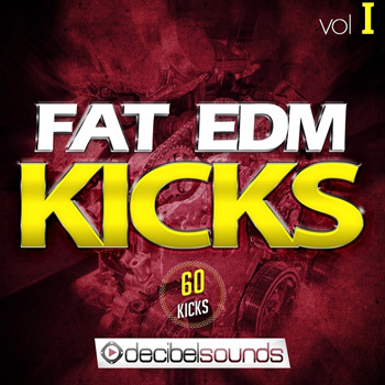 Сэмплы бочек - Decibel Sounds Fat EDM Kicks Vol 1