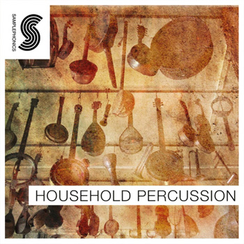 Сэмплы Samplephonics Household Percussion