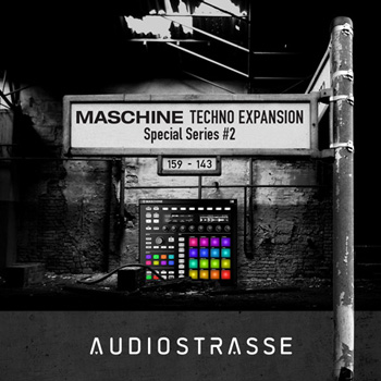 Расширение Audio Strasse Special Series #2 Maschine Techno Expansion (Maschine)