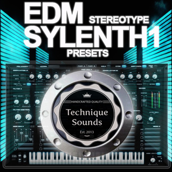 Пресеты Technique Sounds EDM Stereotype Sylenth1 Presets