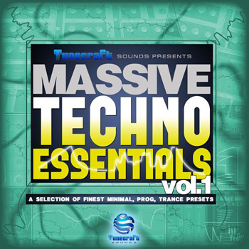 Пресеты Tunecraft Sounds Tunecraft Techno Essentials Vol.1