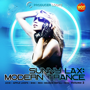 Сэмплы Producer Loops Sunny Lax Modern Trance Vol 2