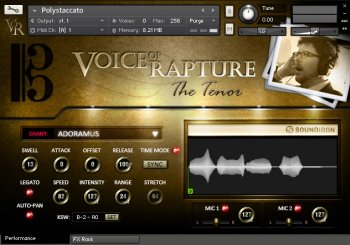 Библиотека сэмплов - Soundiron Voice of Rapture The Tenor (KONTAKT)
