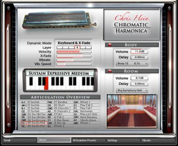 Библиотека сэмплов - Best service Chris Hein Chromatic Harmonica v.1.0 (KONTAKT)