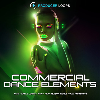 Сэмплы Producer Loops Commercial Dance Elements Vol 4