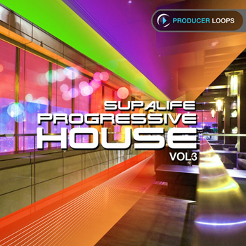 Сэмплы Producer Loops Supalife Progressive House 3