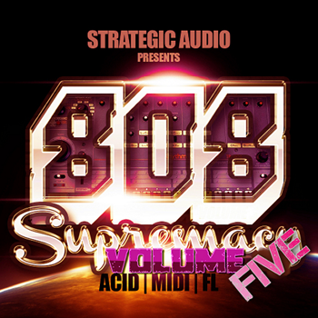 Сэмплы Strategic Audio 808 Supremacy Vol 5