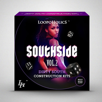 Сэмплы Loopoholics Southside Vol.2 Dirty South Construction Kits