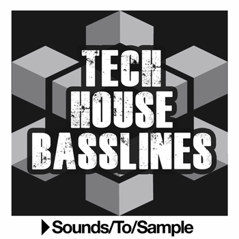 Сэмплы Sounds To Sample Tech House Basslines