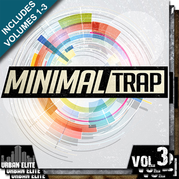 Сэмплы Urban Elite Minimal Trap Bundle Vols 1-3