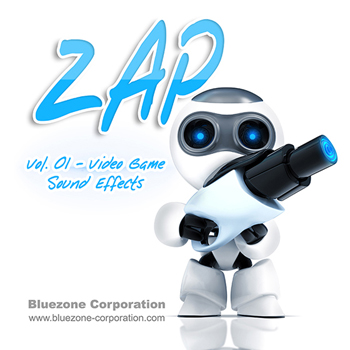 Звуковые эффекты - Bluezone Corporation Zap 01 Video Game Sound Effects