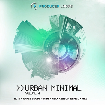 Сэмплы Producer Loops Urban Minimal Vol 4