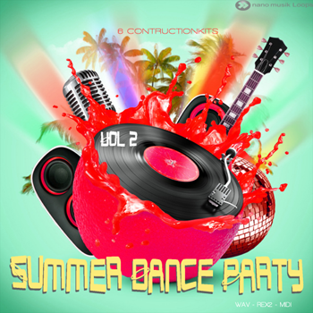 Сэмплы Nano Musik Loops Summer Dance Party 2