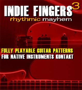 Библиотека сэмплов - Dream Audio Tools Indie Fingers Vol Three Rhythmic Mayhem v.1.0.4