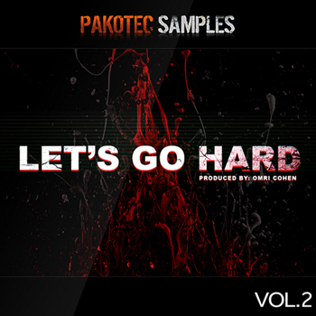 Сэмплы Pakotec Samples Lets Go Hard Vol.2