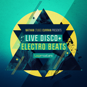 Сэмплы Loopmasters Nathan Curran Presents Live Disco and Electro Beats