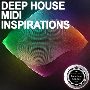 MIDI файлы - Technique Sounds Deep House Midi Inspirations